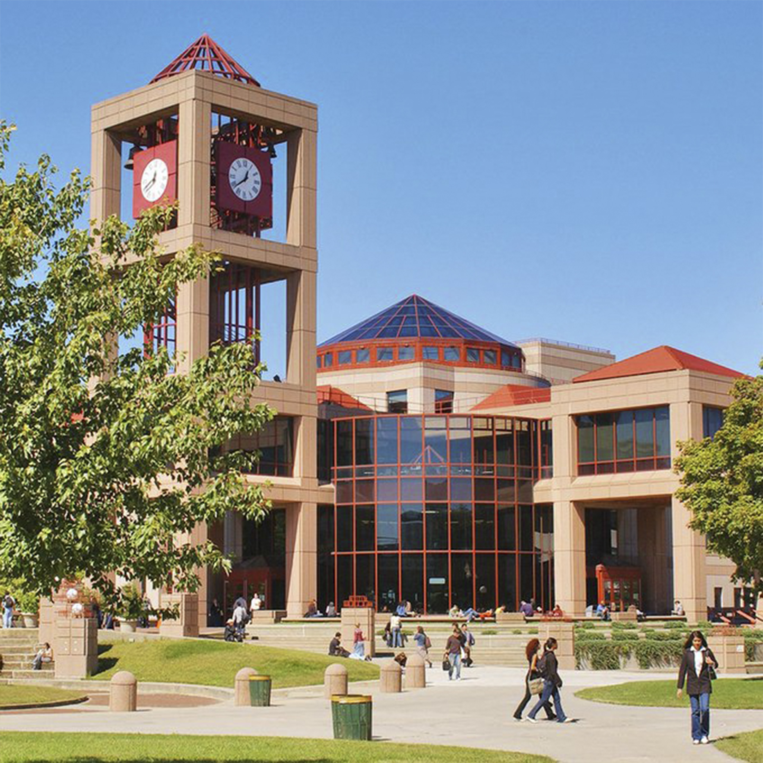 Image of Queens College's Clock Tower