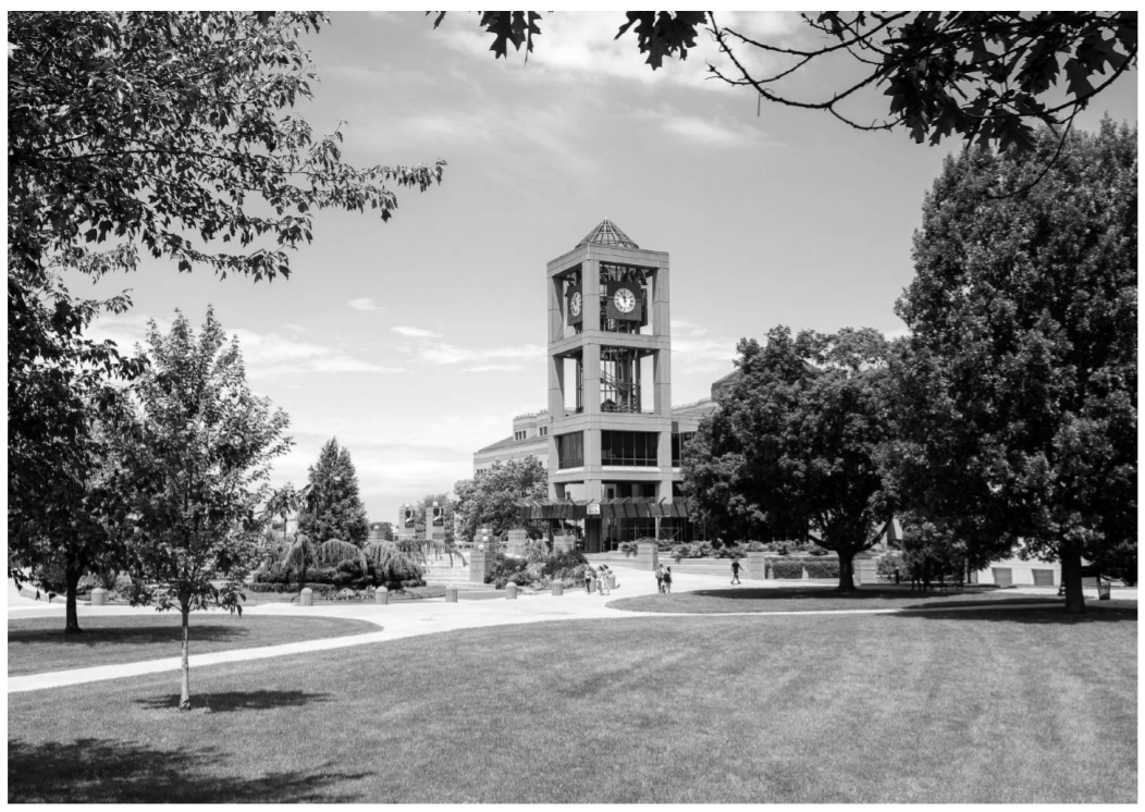 QNS Image of Campus Lawn.